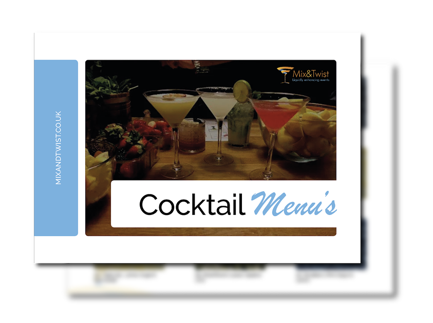 MT - Cocktail Menu Cover